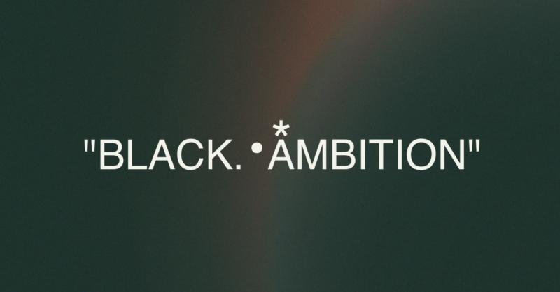 black ambition logo